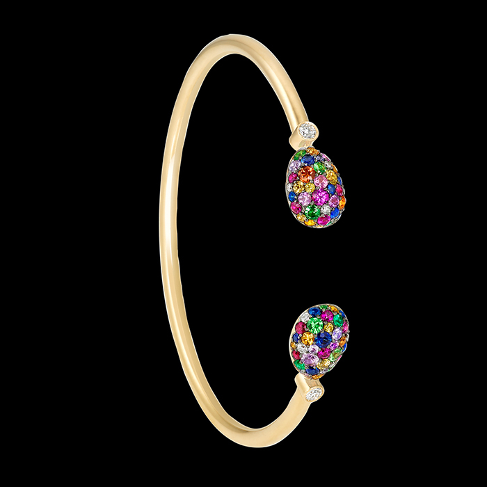 Fabergé - BRACELET « EMOTION MULTI-COLOURED OPEN-SET»