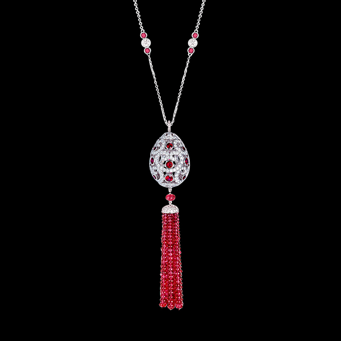 "Fabergé - Collier ""IMPERATRICE RUBY TASSEL"""