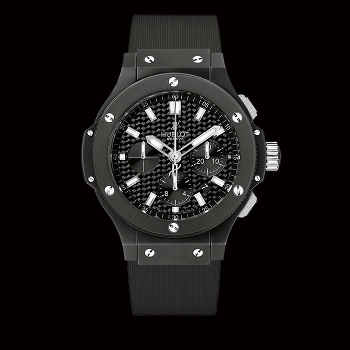 hublot - Hublot BIG BANG BLACK MAGIC chronographe 44 mm 301.CI.1770.RX