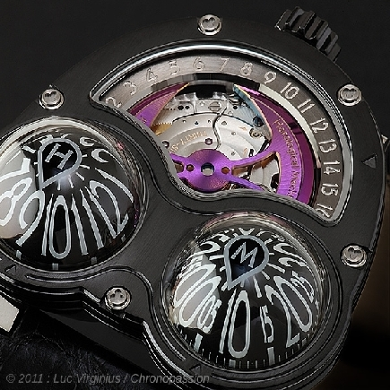 MB&F - Horological Machine No3 Frog Zr
