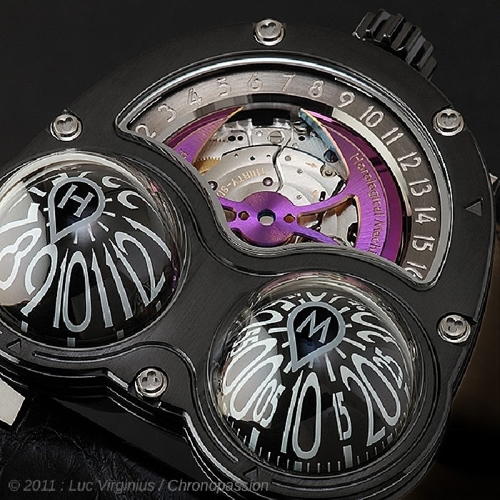MB&F - MB&F Horological Machine No3 Frog Zr