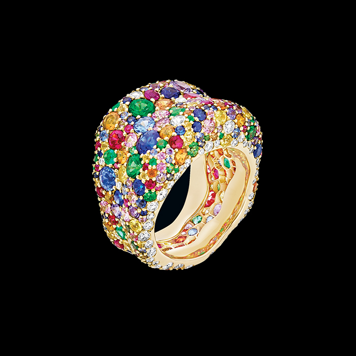 Fabergé - FABERGÉ - BAGUE EMOTION MULTICOLORE