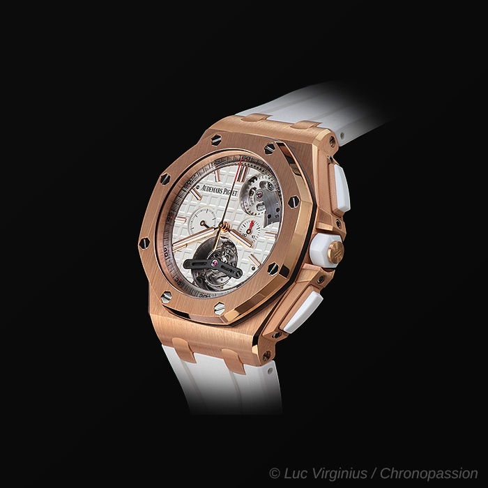 Audemars Piguet - ROYAL OAK OFFSHORE TOURBILLON CHRONOGRAPHE AUTOMATIQUE