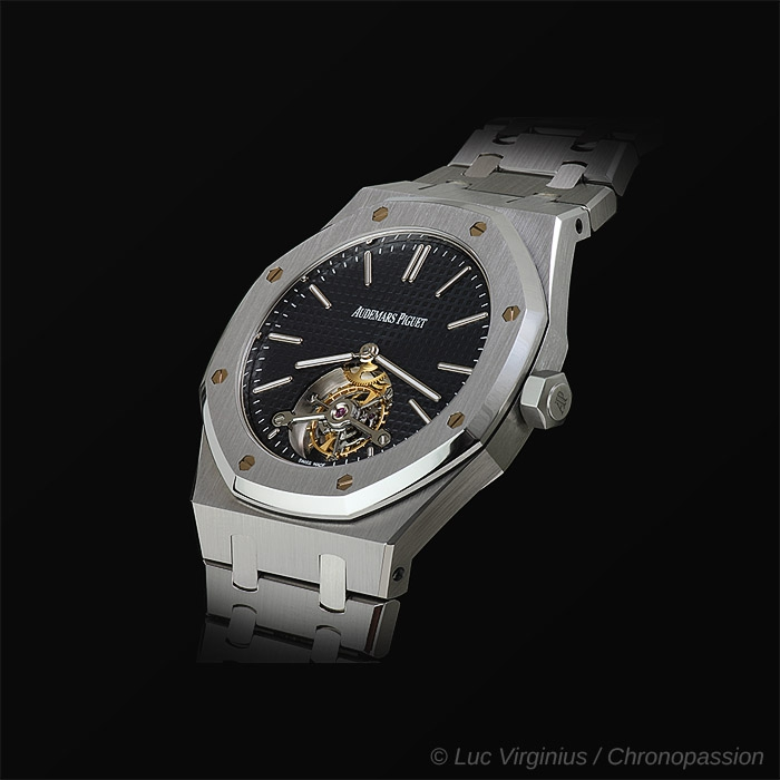 Audemars Piguet - Royal Oak , tourbillon extra plat
