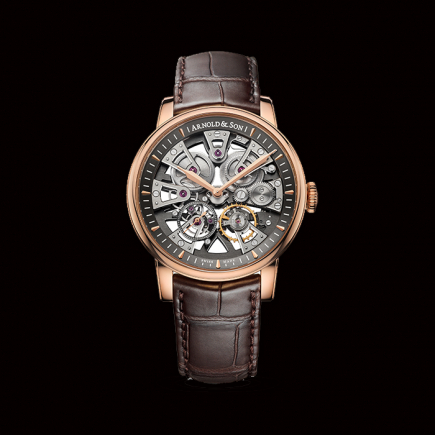 Arnold & Son - Arnold & Son, Nebula Or rose, 1NEAR.S01A.D135A