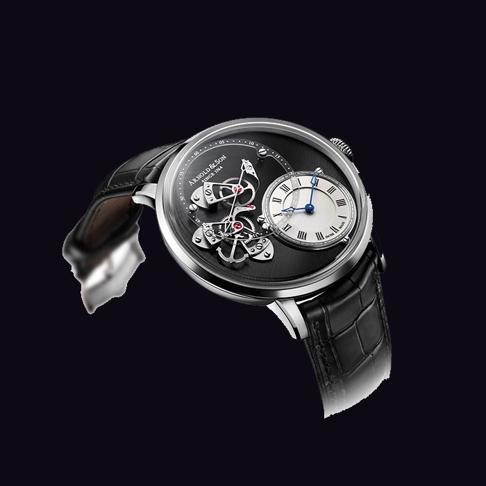 Arnold & Son - Arnold & Son DSTB (Dial Side True Beat)  Acier