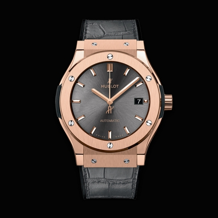 "hublot - HUBLOT CLASSIC FUSION ""RACING GREY"" KING GOLD 45MM"