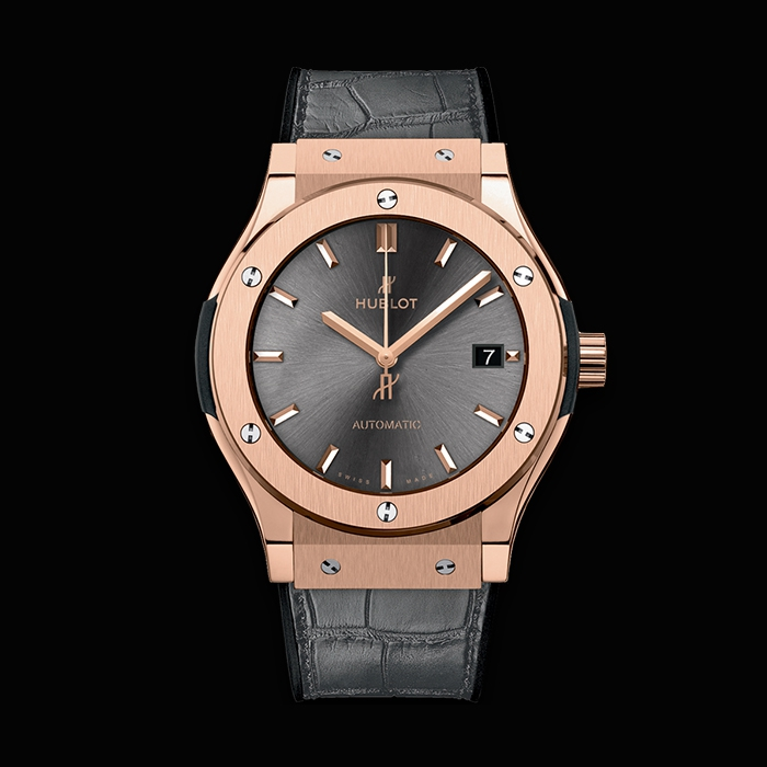 "hublot - HUBLOT CLASSIC FUSION ""RACING GREY"" KING GOLD 45MM 511.OX.7081.LR"