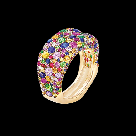 Fabergé - FEBERGE - BAGUE EMOTION MULTICOLORE