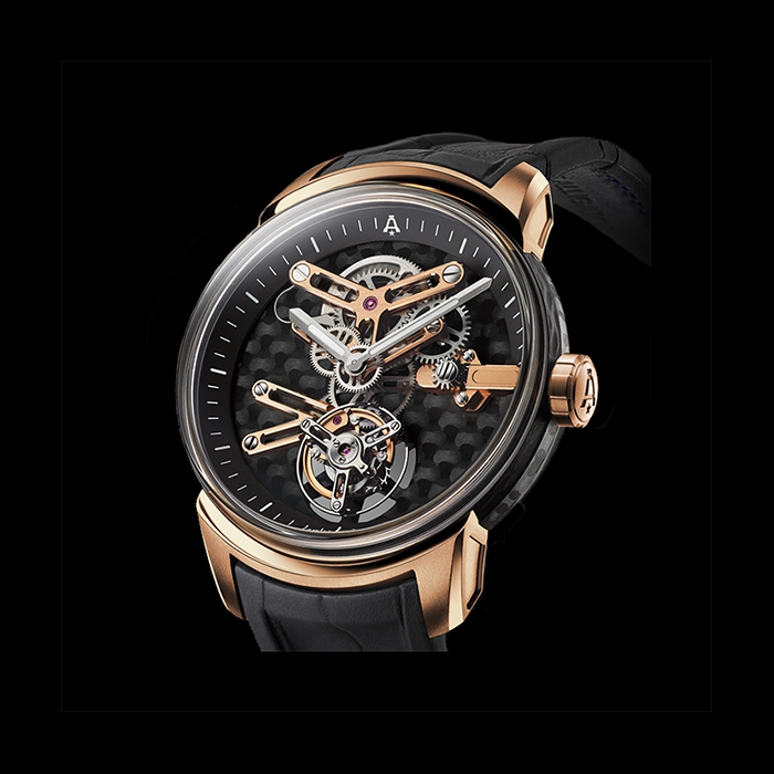 Angelus - ANGELUS U21 TOURBILLON CARBON GOLD