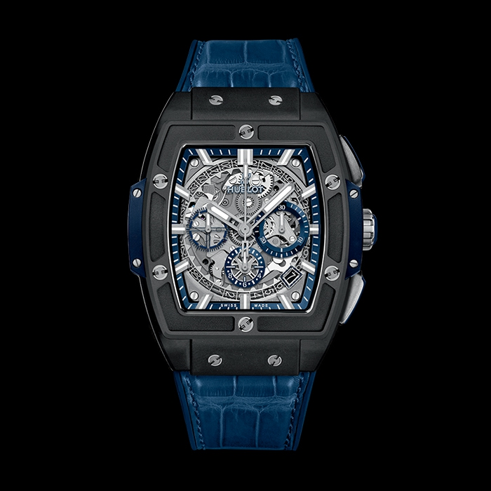 hublot - HUBLOT SPIRIT OF BIG BANG CERAMIQUE BLEUE 641.CI.7170.LR