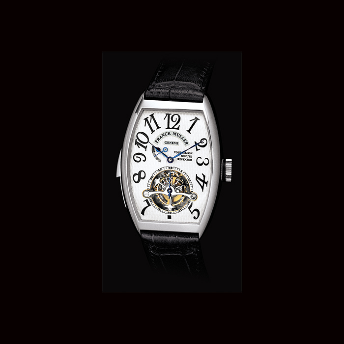 Franck Muller - Franck Muller, Tourbillon Imperial Répétition Minutes Cintré Curvex Collection 5850 RM T PT