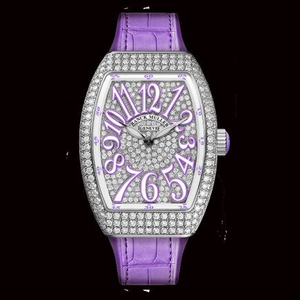 Franck Muller - Franck Muller Lady Vanguard Collection v-32-qz-d-cd-vl