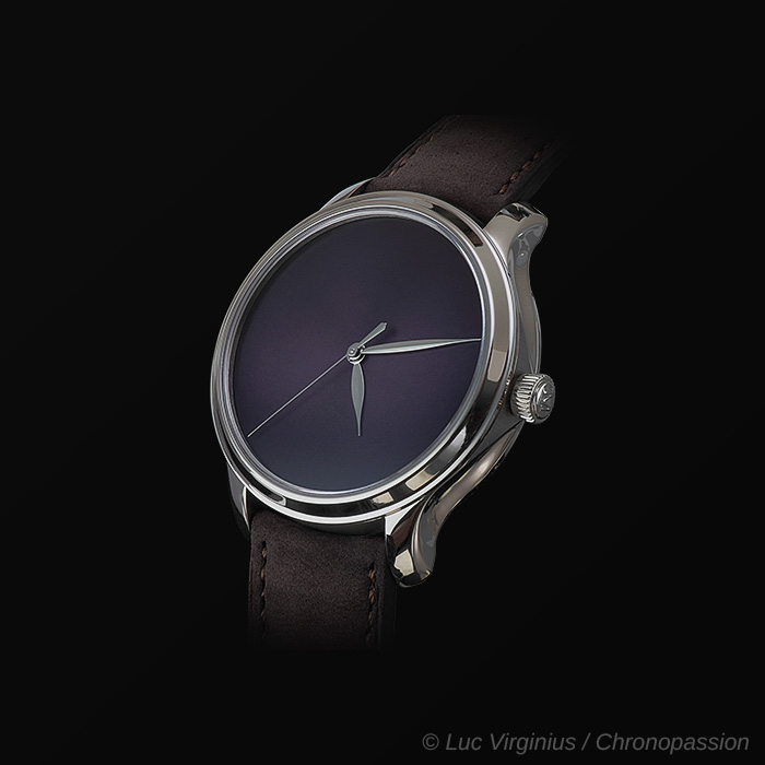 H Moser & Cie - H MOSER & CIE ENDEAVOUR CENTRE SECONDS CONCEPT PURPLE HAZE 1343-0212