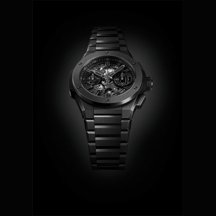 hublot - HUBLOT BIG BANG INTEGRAL ALL BLACK CERAMIC 451.CX.1140.CX