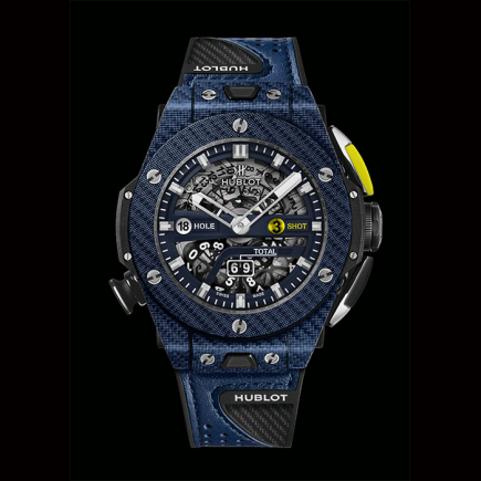 hublot - HUBLOT BIG BANG UNICO GOLF bleu 416.YL.5120.VR