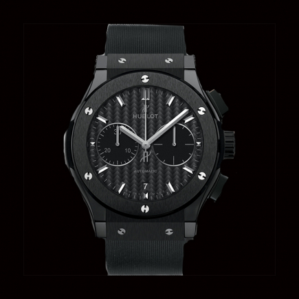 hublot - Hublot CLASSIC FUSION CHRONOGRAPHE BLACK MAGIC 45 mm 521.CM.1771.RX