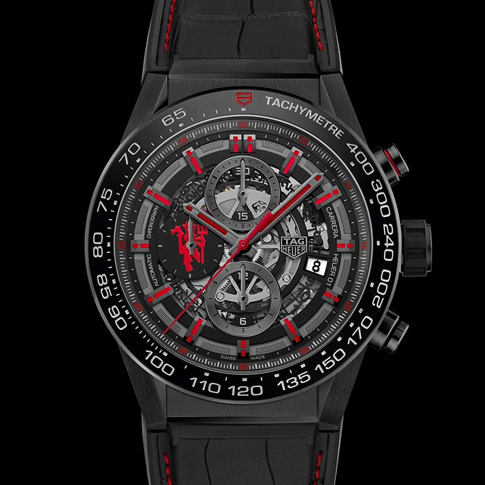Tag Heuer - TAG HEUER Manchester United Edition Spéciale