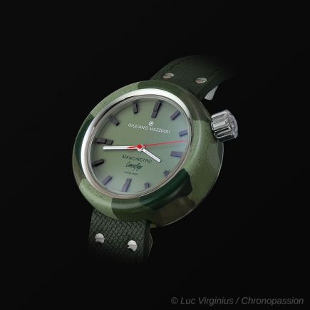 giuliano mazzuoli - Manometro Camouflage , forest green
