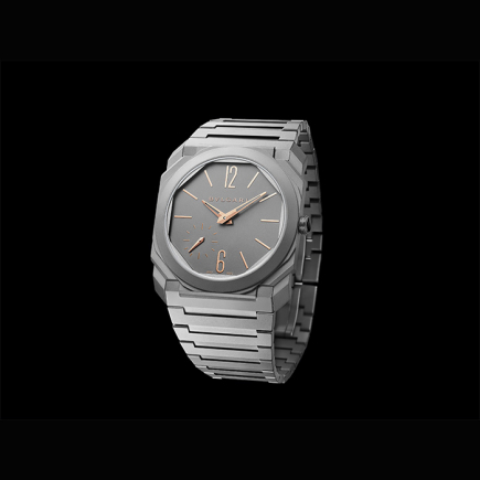 Bulgari - Bulgari OCTO FINISSIMO AUTOMATIQUE INDEX AIGUILLES OR ROSE 103137