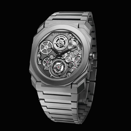 Bulgari - BULGARI OCTO FINISSIMO TOURBILLON AUTOMATIQUE Reference 102937