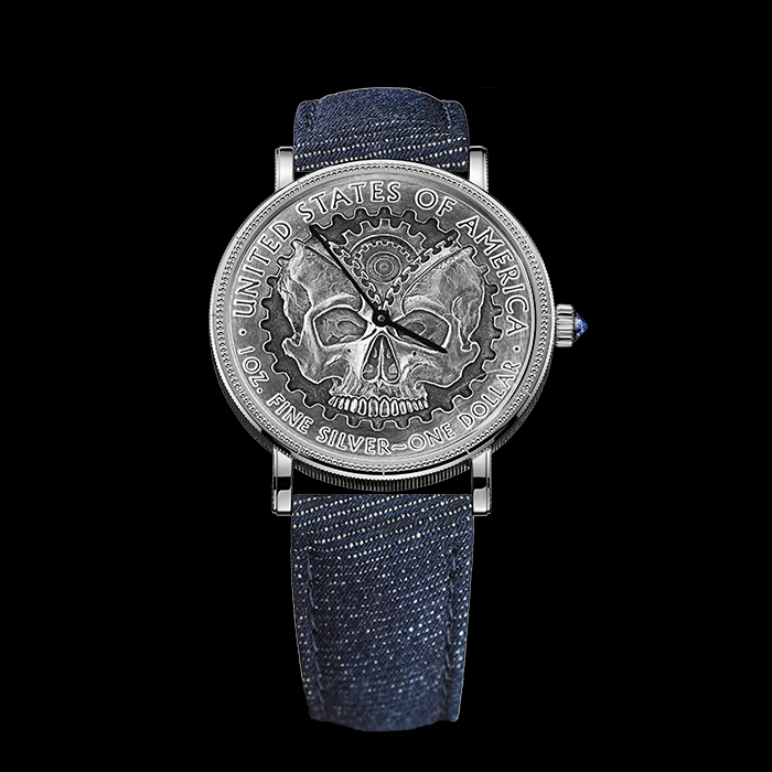 Corum - CORUM COIN WATCH (PIÈCE UNIQUE) ZIPPER
