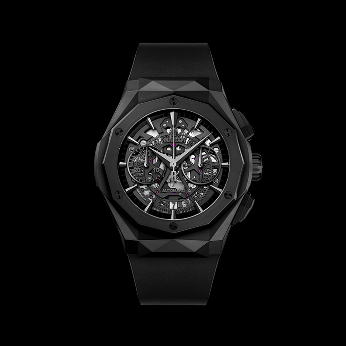 hublot - HUBLOT AEROFUSION CHRONOGRAPH ORLINSKI ALL BLACK