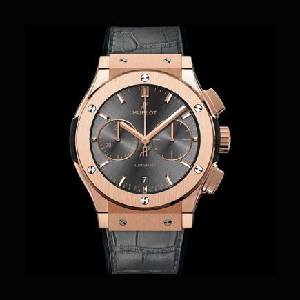 "hublot - HUBLOT CLASSIC FUSION CHRONOGRAPHE 45MM ""RACING GREY"" KING GOLD 521.OX.7081.LR"