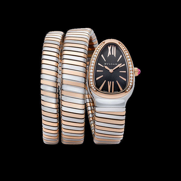 Bulgari - BULGARI SERPENTI DOUBLE TUBOGAS