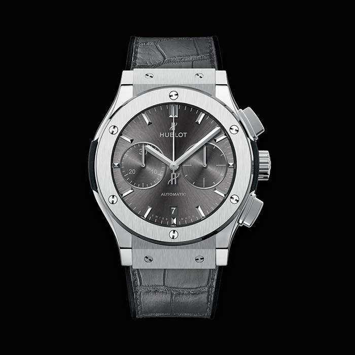 hublot - HUBLOT CLASSIC FUSION CHRONOGRAPHE 45MM RACING GREY TITANE