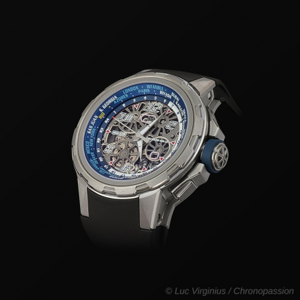 richard mille -  MONTRE AUTOMATIQUE RM 63-02 HEURE UNIVERSELLE