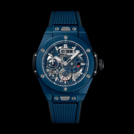 hublot - HUBLOT BIG BANG MECA-10 BLUE CERAMIQUE 414.EX.5123.RX