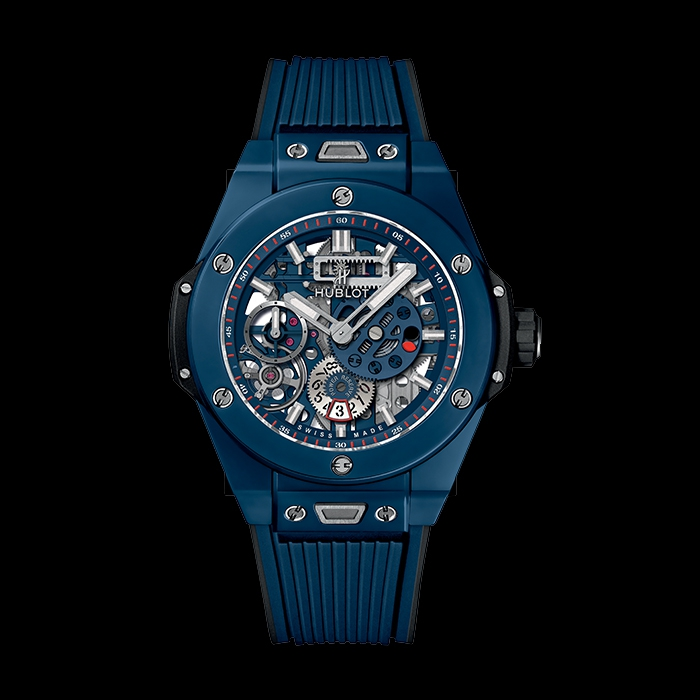 hublot - HUBLOT BIG BANG MECA-10 BLUE CERAMIC