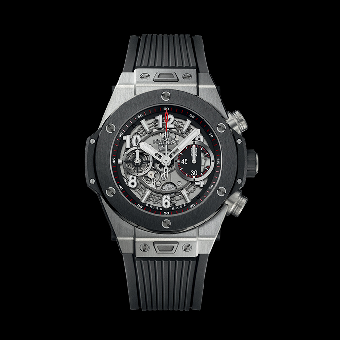 hublot - HUBLOT BIG BANG UNICO 42MM TITANE CERAMIQUE 441.NM.1123.RX
