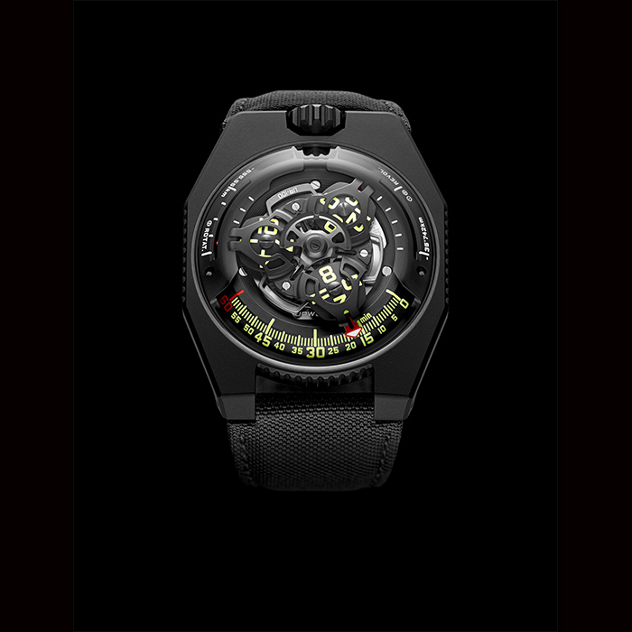 urwerk - URWERK Space Time, Black, UR-100