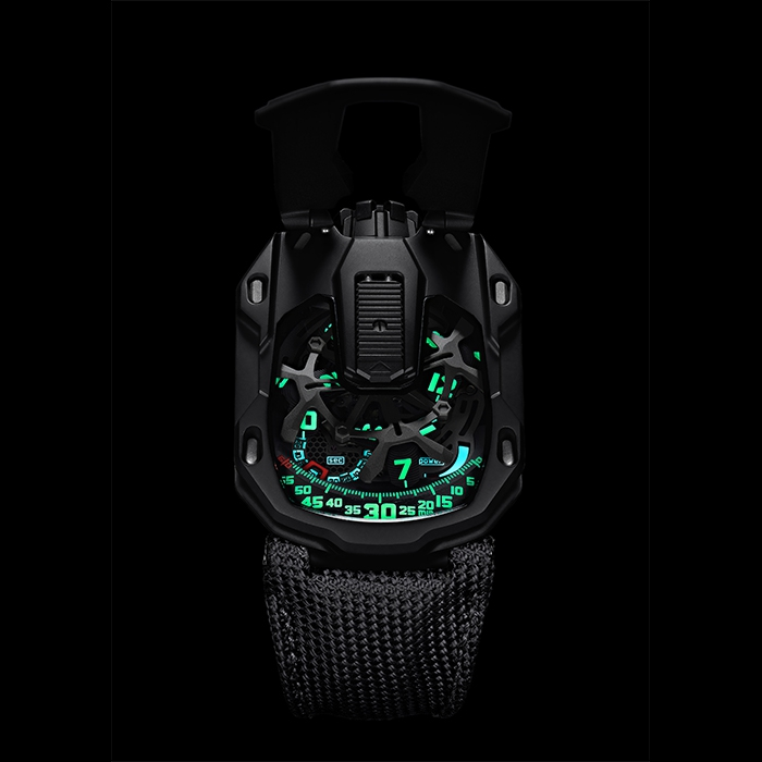 urwerk - Urwerk UR-105 CT Kryptonite