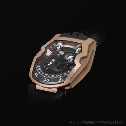 urwerk - URWERK 210 Or rose